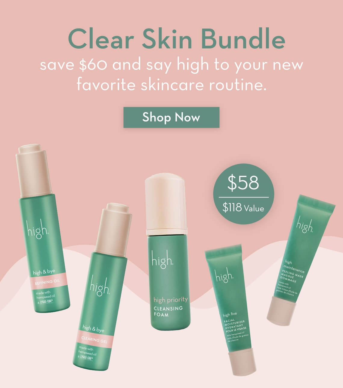 Save $60 on our Clear Skin Bundle