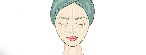 How to give yourself a relaxing facial massage at home.