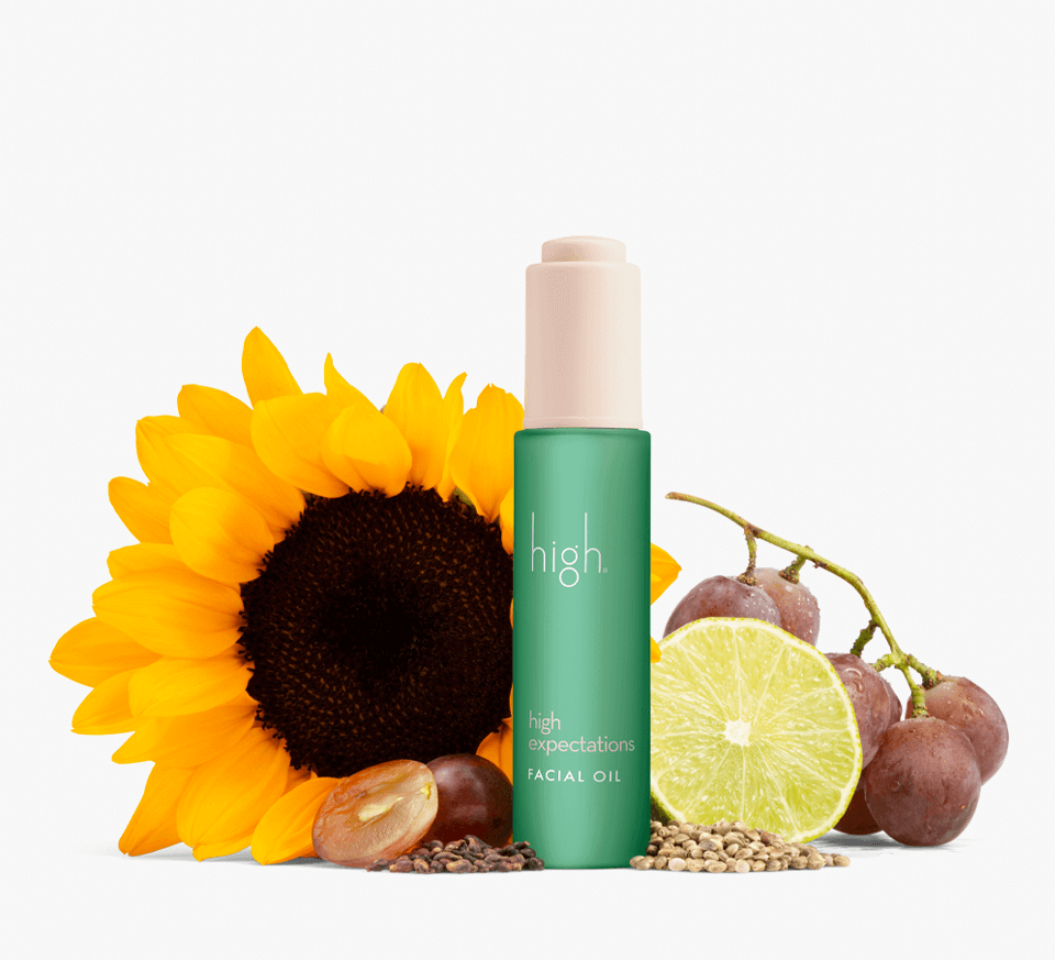 high expectations<br> FACIAL OIL