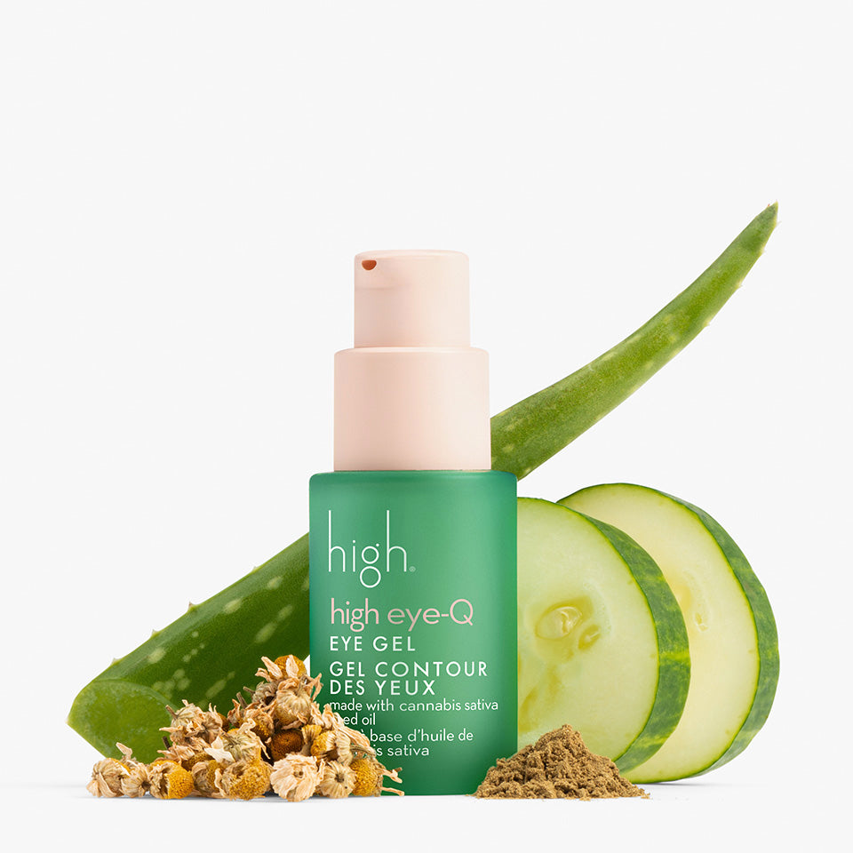 high eye-Q<br> CANNABIS EYE GEL