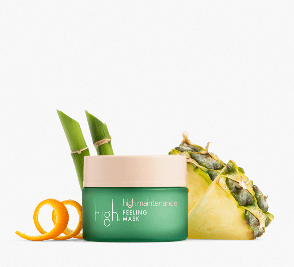 high maintenance<br> PEELING MASK