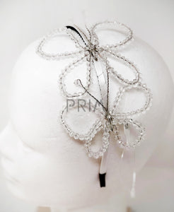 CRYSTAL BUTTERFLY HEADBAND