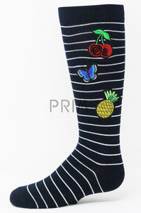 PATCHES KNEE SOCK