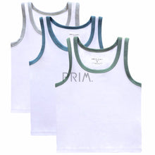 Load image into Gallery viewer, PC BOYS SLEEVELESS COLOR TRIM UNDERSHIRT