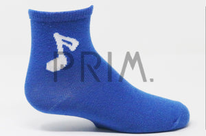 MUSICAL NOTE ANKLE SOCK