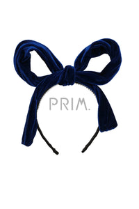 PARTY BOW VELVET HEADBAND