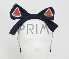 Load image into Gallery viewer, WATERMELON BOW HEADBAND