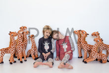 Load image into Gallery viewer, TEELA GIRAFFE PAJAMAS