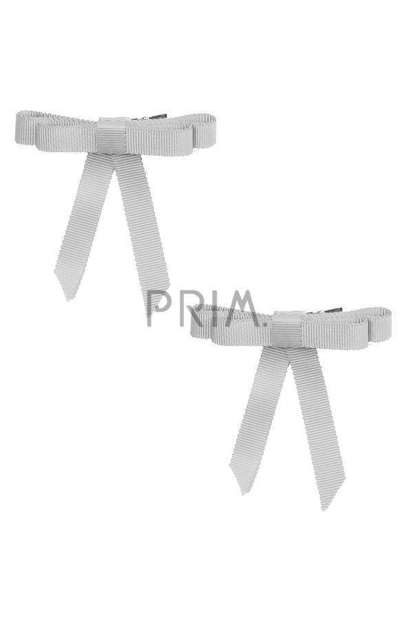 PROJECT 6 GROSGRAIN BOW CLIP SET OF 2