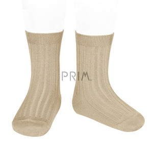 CONDOR RIBBED COTTON SOCK
