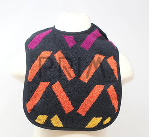 DIAGONAL MULTI STRIPE BIB