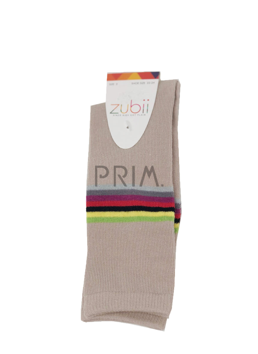 ZUBII STRIPE KNEE SOCK