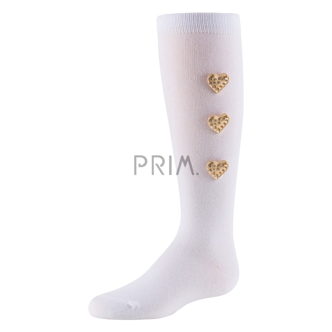 ZUBII HEARTY HEARTS KNEE SOCK