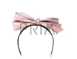 STAND UP TWO TONED BOW HEADBAND