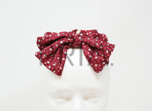 DOTS BOW BABY HEADBAND
