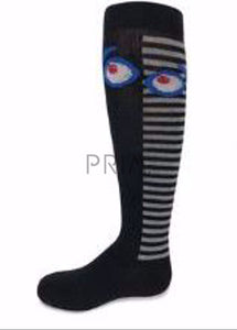 ZUBII STRIPED EYES KNEE SOCK