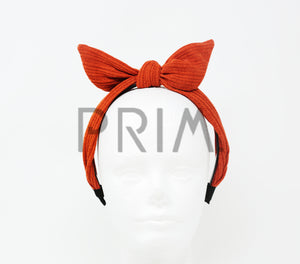 SWEATER BOW HEADBAND