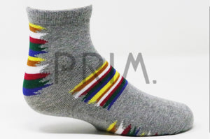 PAINTBRUSH ANKLE SOCK