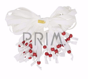 HEIRLOOMS STRINGY BOW PEARLS CLIP