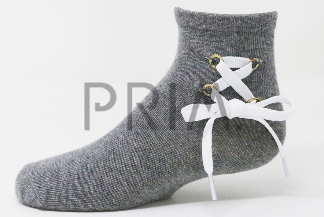 SHOE LACE ANKLE SOCK