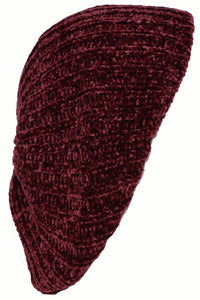 RIBBED CHENILLE SNOOD