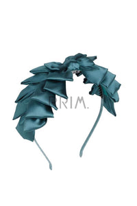 PLEAT RIBBON HEADBAND