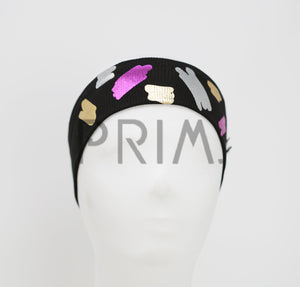 METALLIC PAINTBRUSH JUNIOR HEADWRAP