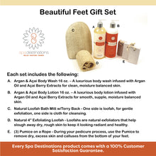 Load image into Gallery viewer, THE BEAUTIFUL FEET GIFT SET