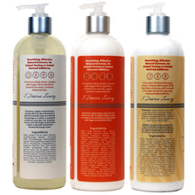 Load image into Gallery viewer, ARGAN & AÇAÍ BODY WASH, BODY LOTION AND SMOOTH & SUNLESS GRADUAL BRONZER TRIO 16 OUNCE