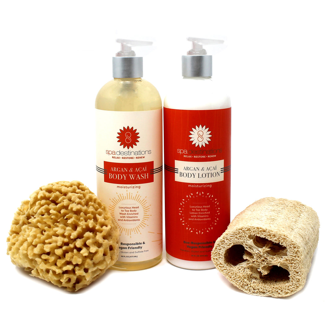 THE BATH AND SHOWER EXPERIENCE GIFT SET