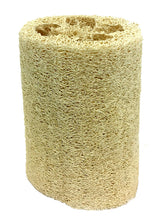 Load image into Gallery viewer, NATURAL LOOFAH EXFOLIATING BATH SPONGE 6""