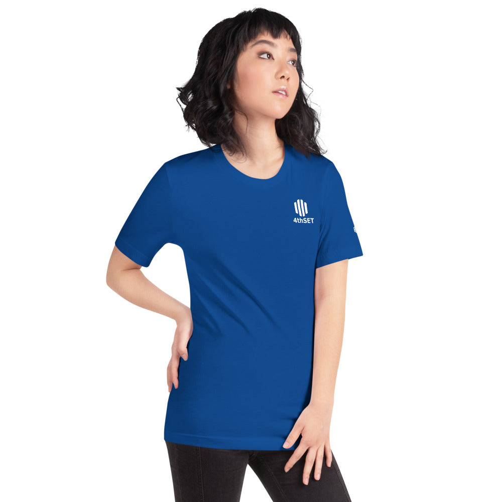 Official Tee <br> <i><small>  Royal </small></i>