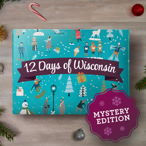 12 Days of Wisconsin Gift Box: Mystery Edition