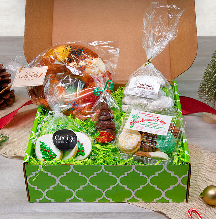 Christmas Around the World Bakery Box