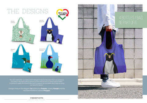 New World reusable bird bags by Hansby Design, New Zealand.