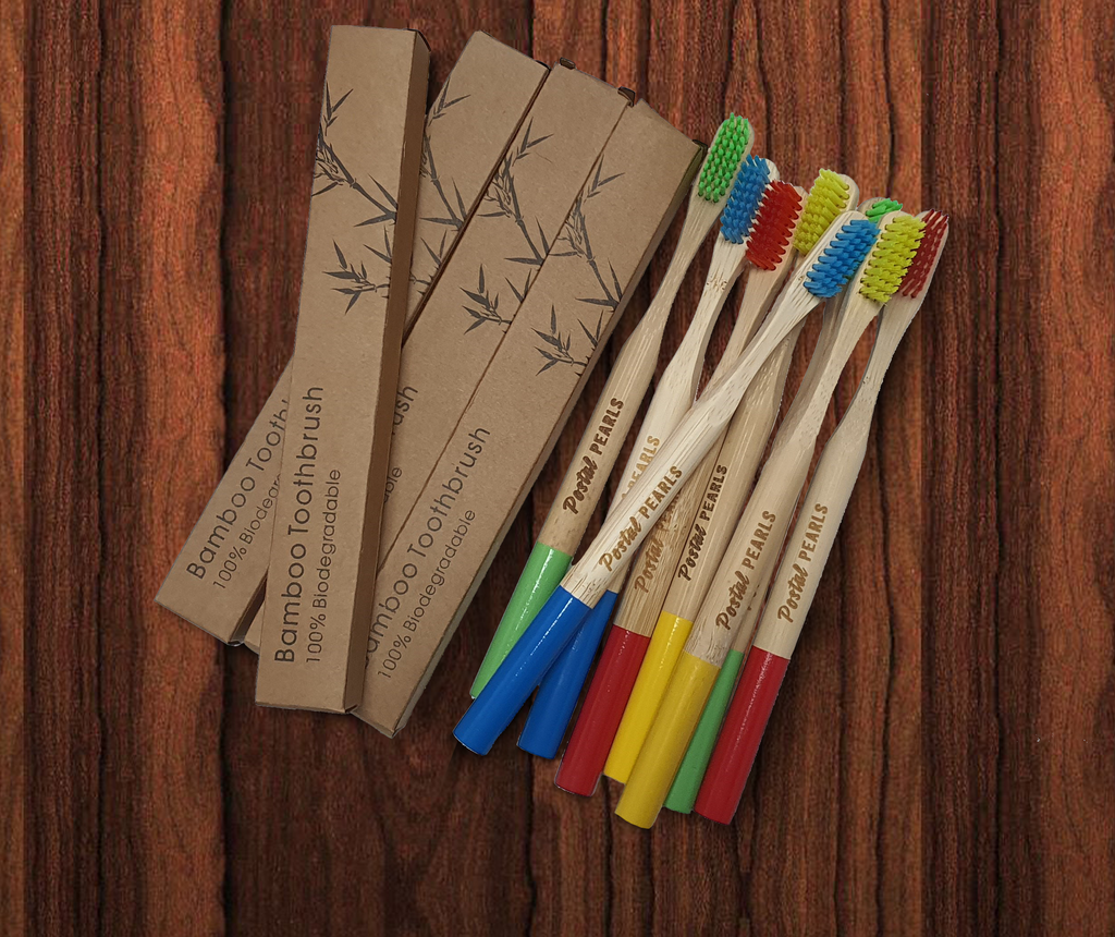 Bamboo 100% biodegradable toothbrush