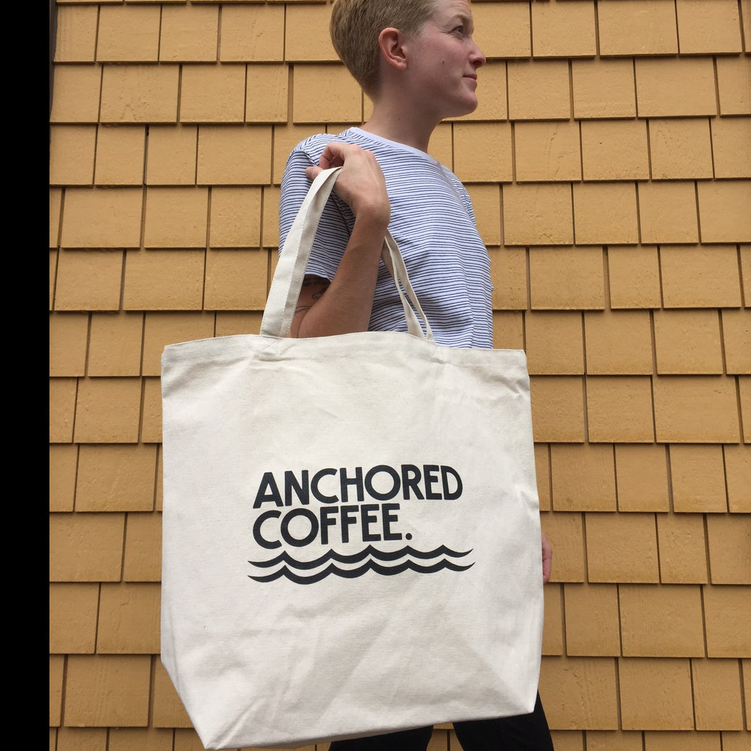 Anchored Coffee Tote Bag
