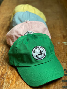 Anchored Coffee Logo Fabric Hats