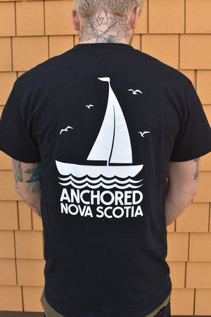 Anchored Coffee Tee