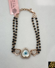 Load image into Gallery viewer, Evil Eye Heart Hand Mangalsutra