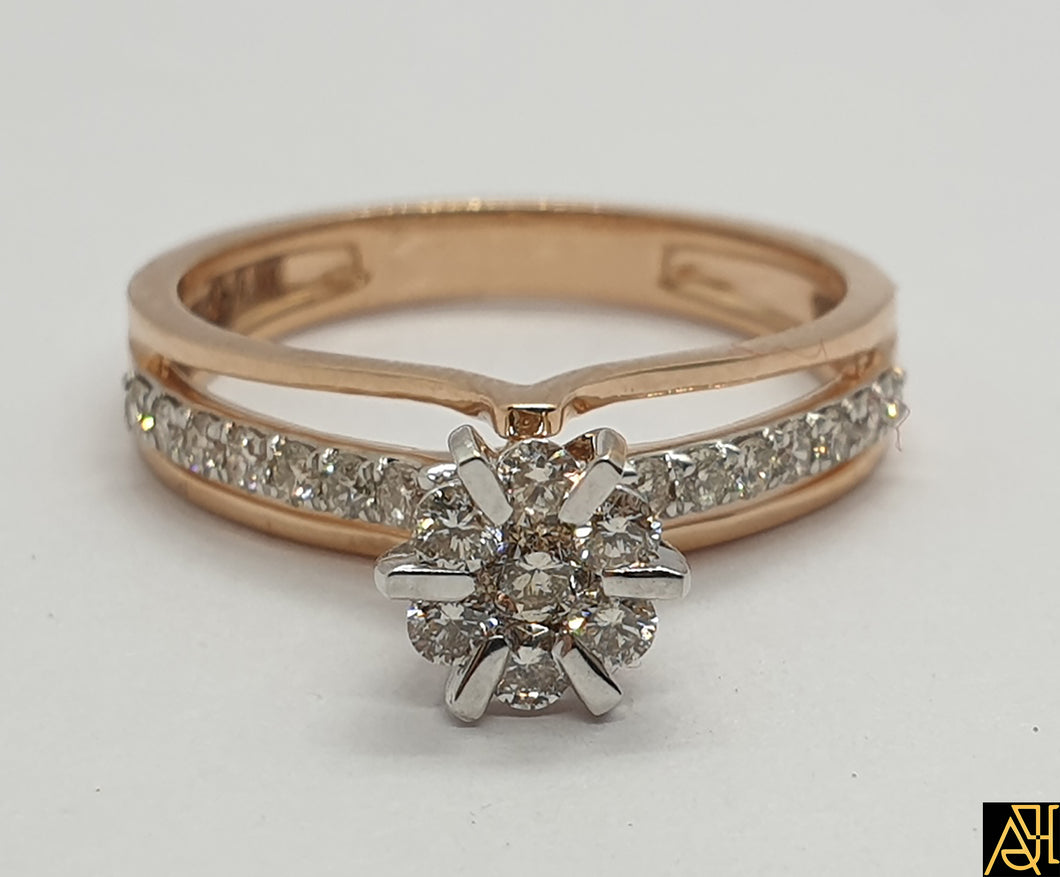 Sleek Diamond Ring
