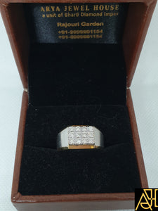 Dependable Men's Diamond Ring