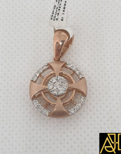 Load image into Gallery viewer, Compact Diamond Pendant Set