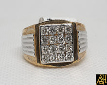 Load image into Gallery viewer, Robust Men's Diamond Ring