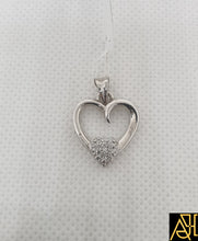 Load image into Gallery viewer, Pure Hearted Diamond Pendant