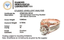 Load image into Gallery viewer, Pleasant Diamond Engagement Ring