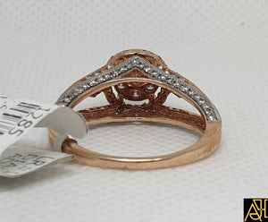 Magical Diamond Engagement Ring