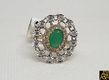 Load image into Gallery viewer, Emerald Tikli Set Ring
