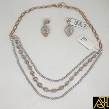 Load image into Gallery viewer, Fantastic Diamond Necklace Set