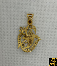 Load image into Gallery viewer, Ganesha Religious Diamond Pendant